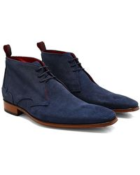 Jeffery West - Textured Suede Scarface Chukka Boots - Lyst
