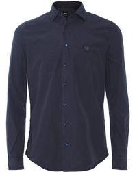 BOSS - Slim Fit Mypop_1 Shirt - Lyst