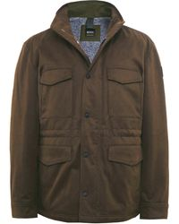 BOSS Orange - Water Repellent Oroy Field Jacket - Lyst