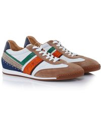 La Martina - Leather Sud Trainers - Lyst
