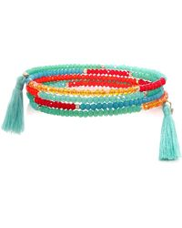 Butterfly - Beaded Columbia Road Coil Bracelet - Lyst