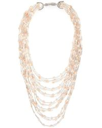 Butterfly - Multi Strand Notting Hill Necklace - Lyst
