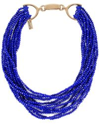 Butterfly - Multi Strand Chelsea Harbour Necklace - Lyst