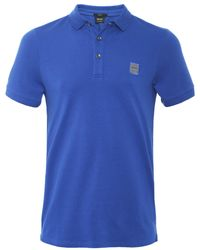 BOSS Orange - Slim Fit Passenger Polo Shirt - Lyst