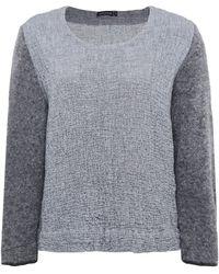 Grizas - Lightweight Wool Sleeve Jumper - Lyst