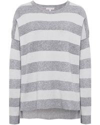 Eileen Fisher - Cashmere Stripe Jumper - Lyst