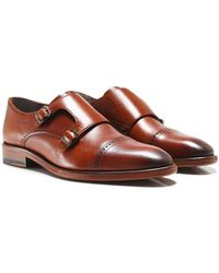 Oliver Sweeney - Leather Ackergill Monk Strap Shoes - Lyst