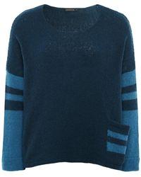 Grizas - Wool Stripe Sleeve Jumper - Lyst