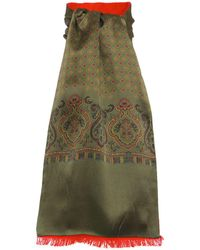 Tootal - Textured Reverse Silk Scarf - Lyst