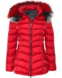 FROCCELLA - B-203 Quilted Mid Length Coat - Lyst