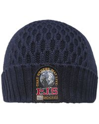 Parajumpers - Wool Blend Waffle Knit Beanie Hat - Lyst