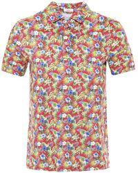 Altea - Pique Cotton Tropical Smith Polo Shirt - Lyst