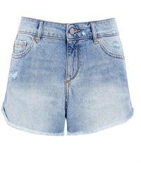 DL1961 - Karlie Westside Denim Shorts - Lyst