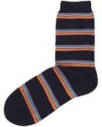 Paul Smith - Multi Block Stripe Socks - Lyst