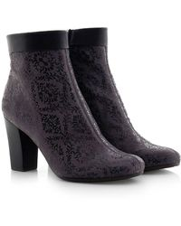 Chie Mihara - Suede Abby Ankle Boots - Lyst