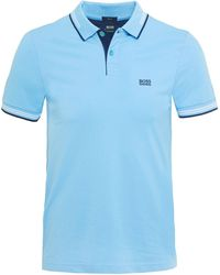 BOSS - Slim Fit Paul Polo Shirt - Lyst