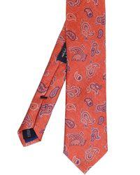 Ascot Accessories - Paisley Silk Tie - Lyst