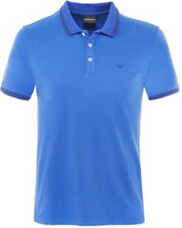 Armani - Twin Tipped Polo Shirt - Lyst
