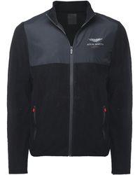 Hackett - Zip-through Fleece Jacket - Lyst