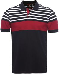 Victorinox - Striped Phoebus Polo Shirt - Lyst