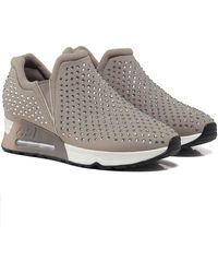 Ash - Embellished Neoprene Lifting Trainers - Lyst