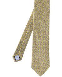 Eton of Sweden - Silk Patterned Tie - Lyst