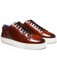 Oliver Sweeney - Leather Hayle Trainers - Lyst