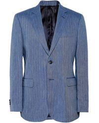 Gant | Linen Herringbone Blazer | Lyst