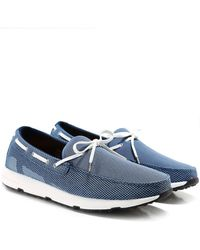 Swims - Breeze Leap Laser Boat Shoes - Lyst