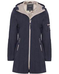 Ilse Jacobsen - Softshell Contrast 3/4 Raincoat - Lyst