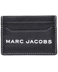 Marc Jacobs The Textured Tag Card Case - Noir