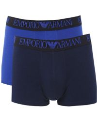 Armani - Two Pack Of Trunks - Lyst