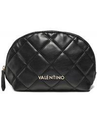 Valentino By Mario Valentino Ocarina Quilted Beauty Bag - Black