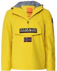 Napapijri Waterproof Rainforest Winter 2 Jacket - Jaune
