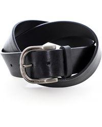 Oliver Sweeney Leather Evry Belt - Black