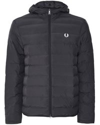 Fred Perry Insulated Hooded Jacket J7516 102 - Noir