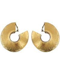Monies Baku Clip On Earrings - Métallisé