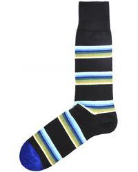 Paul Smith Lion Stripe Socks - Noir