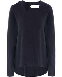 Rundholz - Jersey Cut Out Jumper - Lyst
