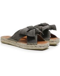 Macarena - Miko7 Open Toe Leather Sandals - Lyst