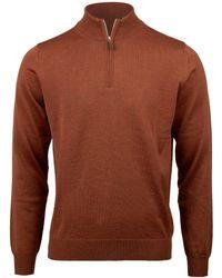 Stenstroms - Merino Wool Half-zip Jumper - Lyst