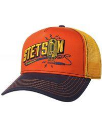 Stetson Connecting Trucker Cap - Orange