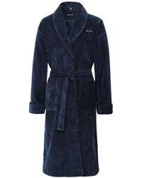 GANT Organic Cotton Premium Robe - Bleu