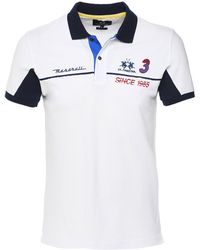 3bfd52a0 La Martina Argentina Polo Shirt in White for Men - Lyst