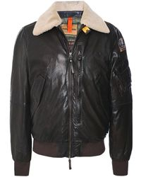 Parajumpers - Waxed Leather Josh Jacket - Lyst