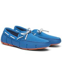 Swims - Braided Lace Loafers - Lyst