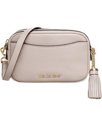 Michael Kors Pebbled Leather Convertible Belt Bag - Pink