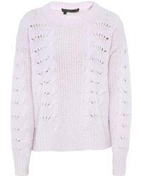 360cashmere Amari Knitted Pink Jumper