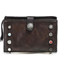 Campomaggi - Leather Purse With Ravenna Studs - Lyst