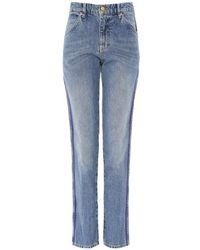 Victoria, Victoria Beckham - Cali Side Stripe Jeans - Lyst